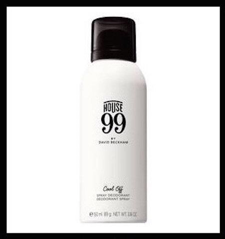 house 99 by david beckham deodorant spray