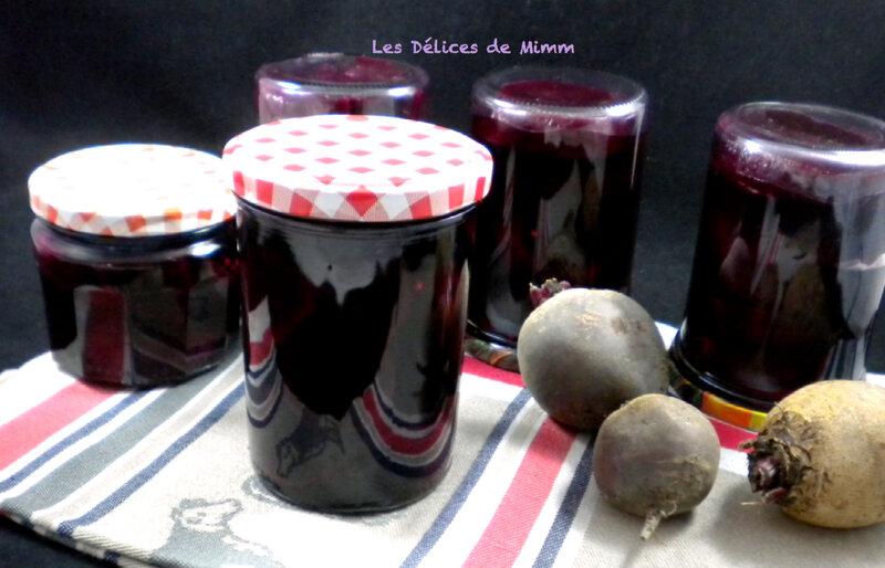 Betteraves rouges au vinaigre