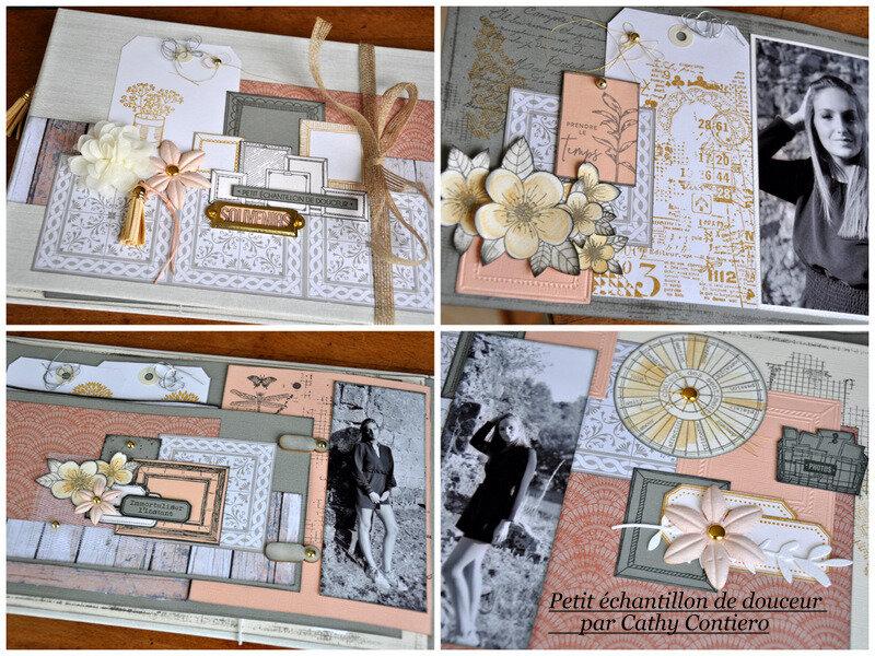 Projet dimanche Album petit echantillon de douceur par Cathy Contiero