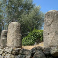 Monument cental: Statues-menhirs Filitosa Vlll, Xl, Vll