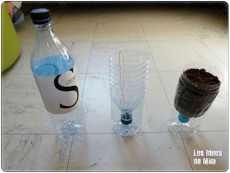 Pots en bouteilles