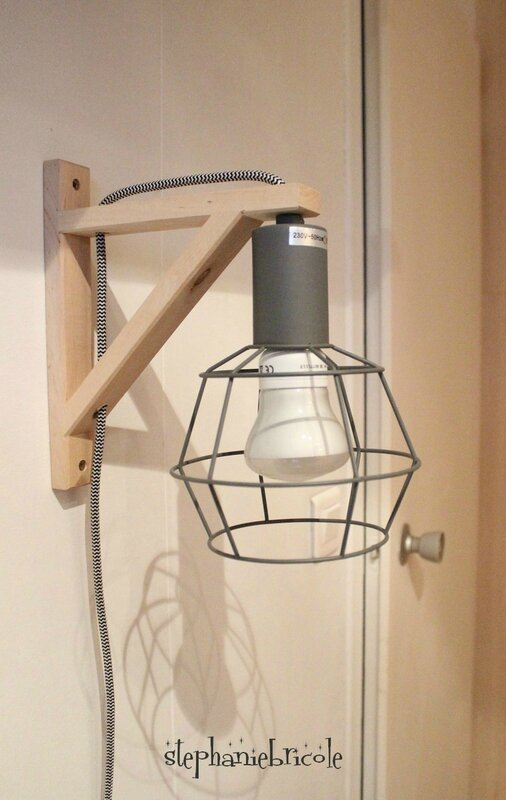 suspension lampe déco diy récup