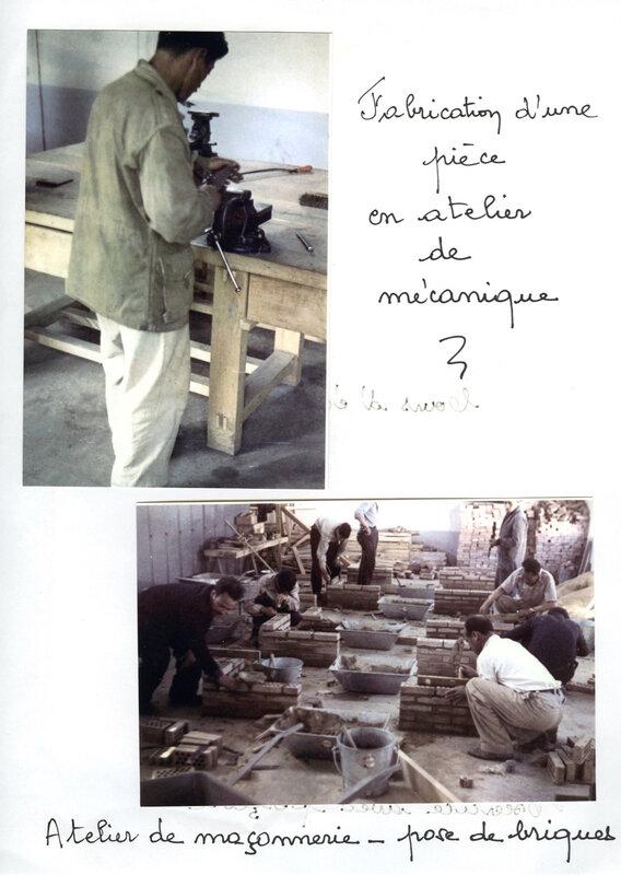 Maurice Faivre, atelier mécanique