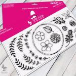 Couronnes fleuries LTM-0349-V