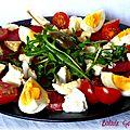 Jour 22 : du tajine de dinde, une salade printanière, de la glace, des fraises ...