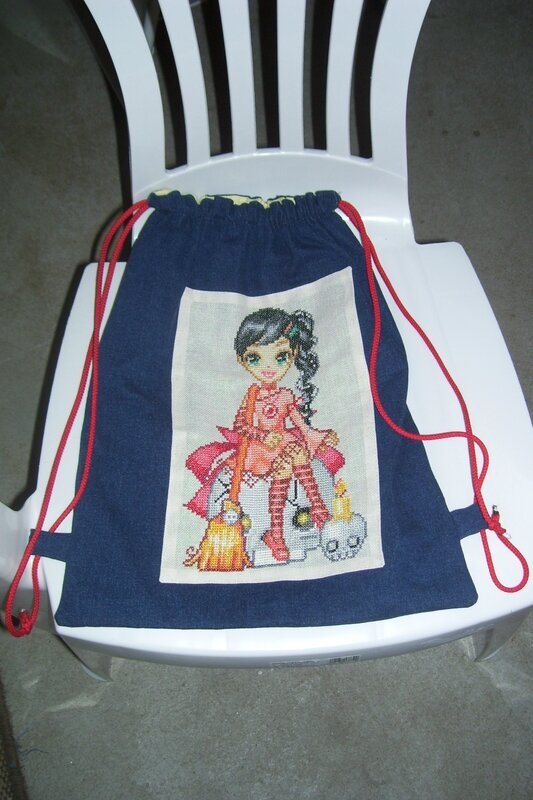 Sac enfant doll halloween