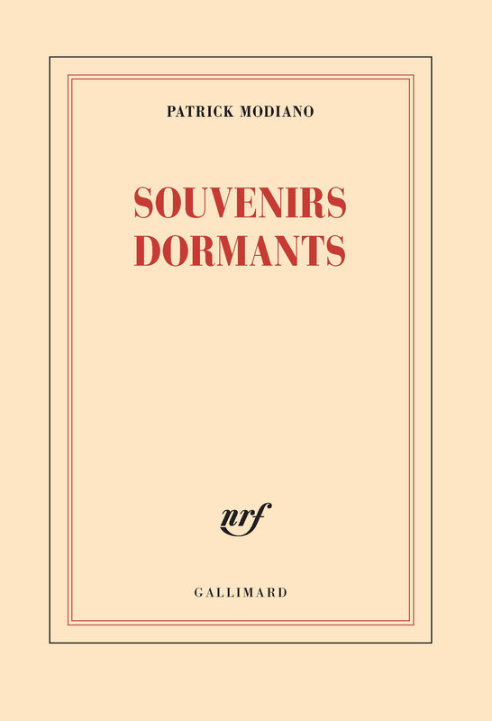 modiano souvenirs dormants