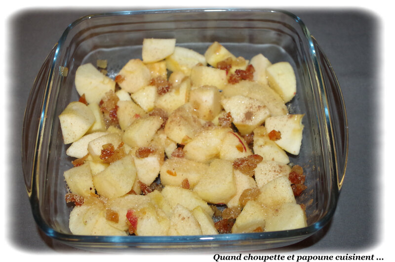 pommes, cannelle et fruits confins au four-7917