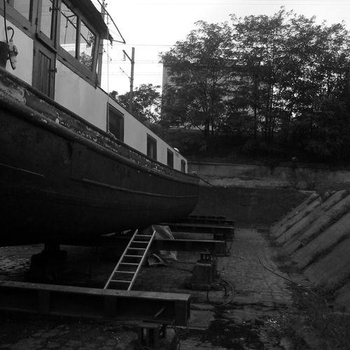 coque nettoyee (tribord)