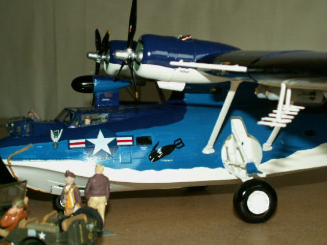 maquette du PBY- CATALINA (version 1948) (7)
