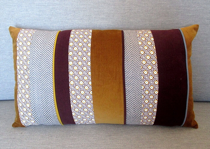 coussin bayadère