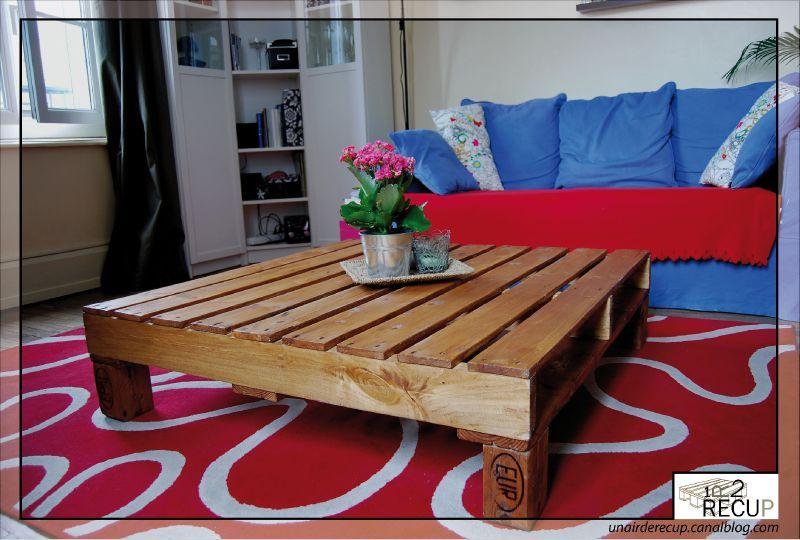 palette table basse convertible un air de r cup 39. Black Bedroom Furniture Sets. Home Design Ideas