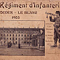 Album 68e Régiment Infanterie 1903