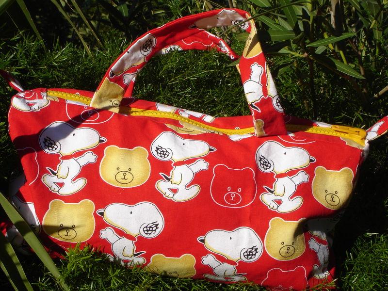 sac Snoopy