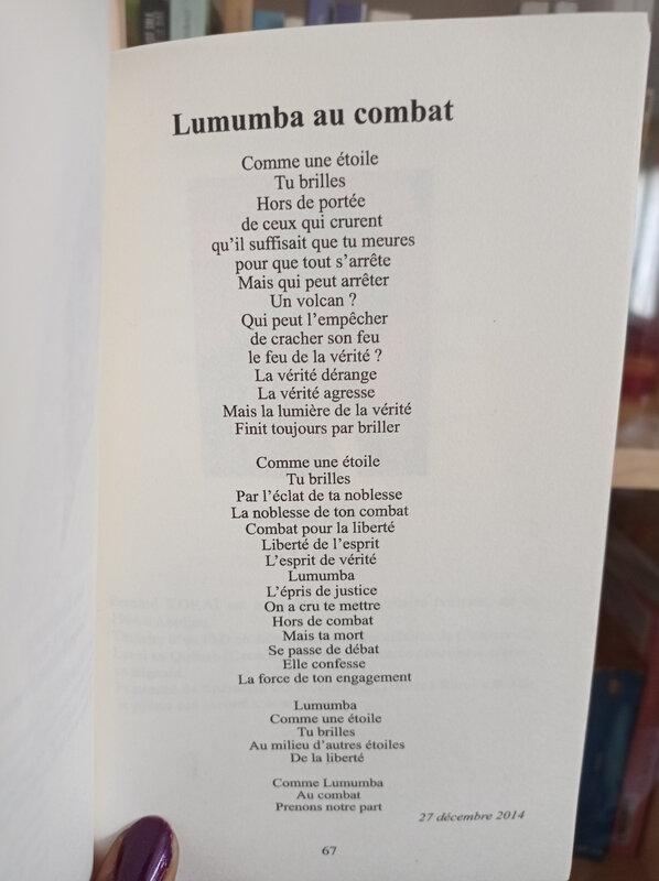 Photo page Lumumba au combat