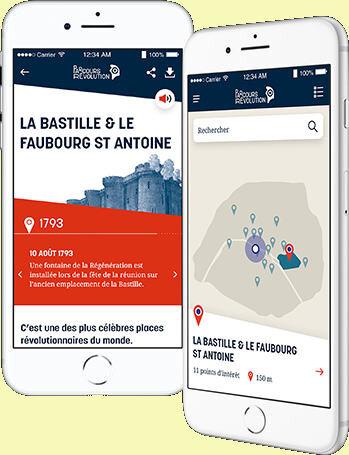 Sur les traces de la Révolution à Paris.