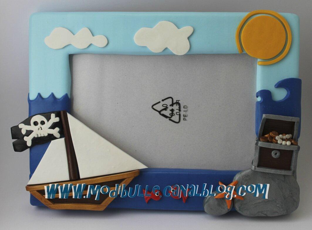 cadre photo bateau pirate