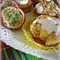 Cupcakes meringués aux fruits de la passion