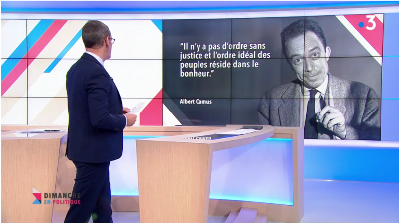CITATION ALBERT CAMUS MEDIA DIXIT WORLD