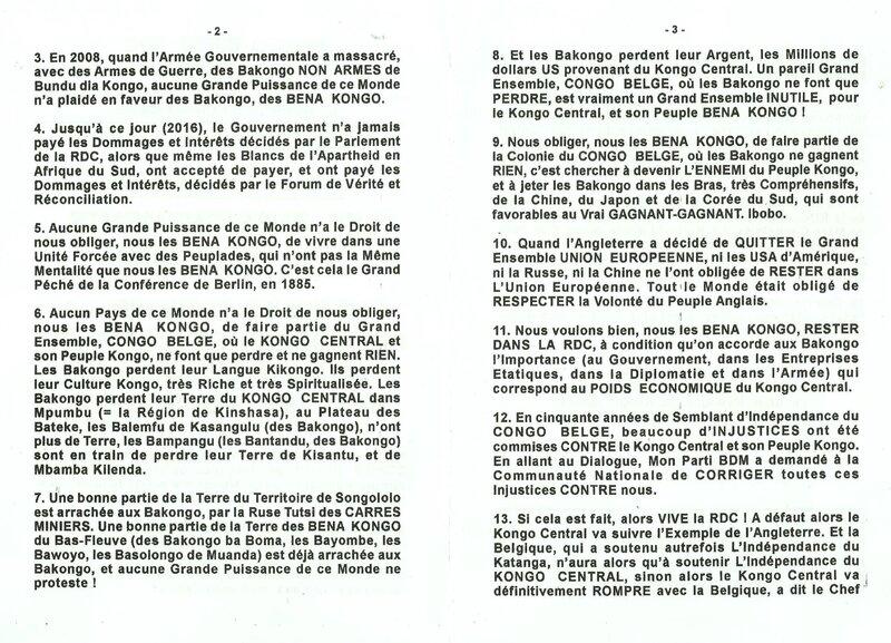 CHERCHEZ D'ABORD LA PRESIDENCE DE L'ETAT DU KATANGA LE KATANGA YETU S'IL VOUS PLAIT b