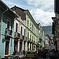 Quito, la montagne et la mer.