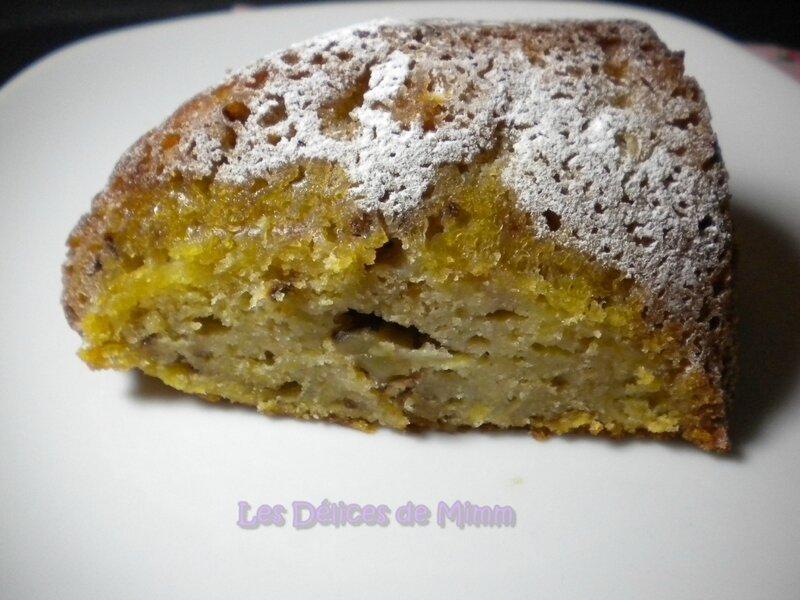 Gâteau d'automne aux pommes et aux noix 6