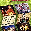 Les «estivales» à avranches en juillet 2011