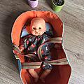 [couture] un couffin pour bébé - deuxième édition - poupée corolle 30 cm