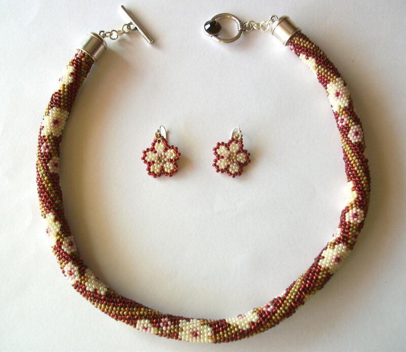 parure collier et boucles