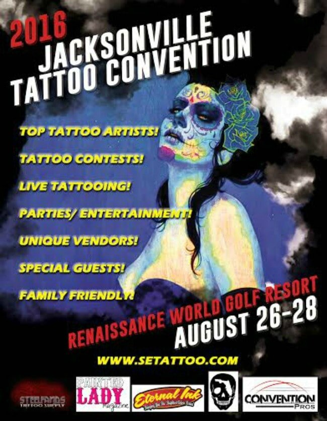 Jacksonville Convention Tattoo 26 - 28 Août 2016
