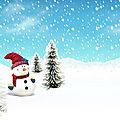 Snowman Christmas Wallpaper1