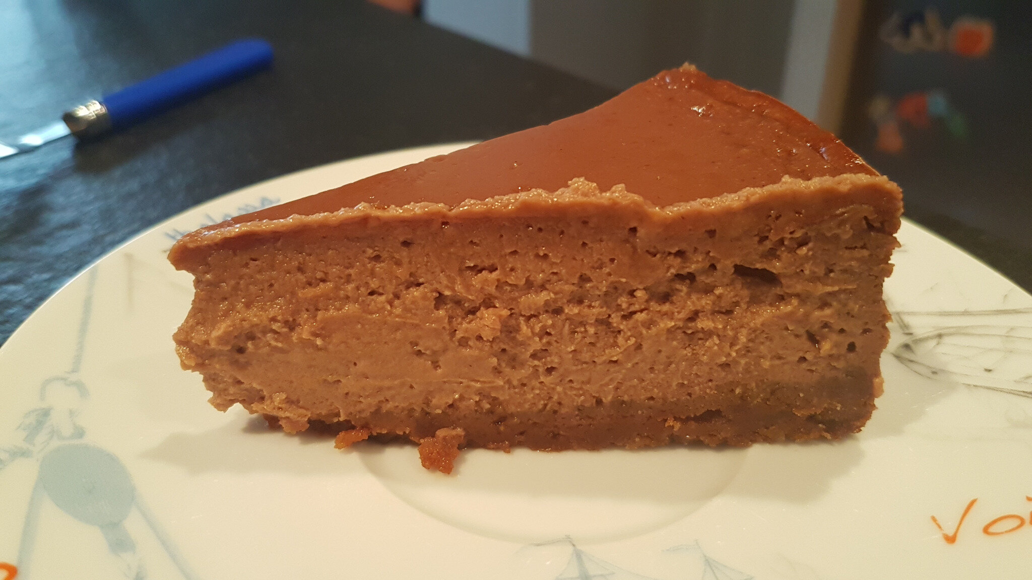 Fake cheesecake à la pâte à tartiner