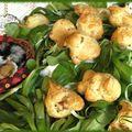 Cougère jambon-parmesan