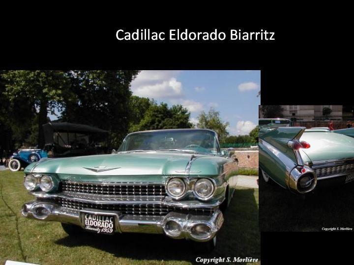 1958 - Cadillac Eldorado - Biarritz -