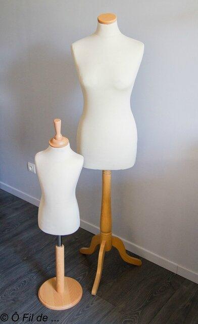 mannequins de couture