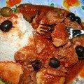 Sauté de veau aux olives en mijoteuse