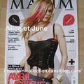 Magazine Maxim-édition italienne (juillet-août 2008)
