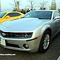 Chevrolet camaro rs de 2011 (rencard burger king avril 2012)
