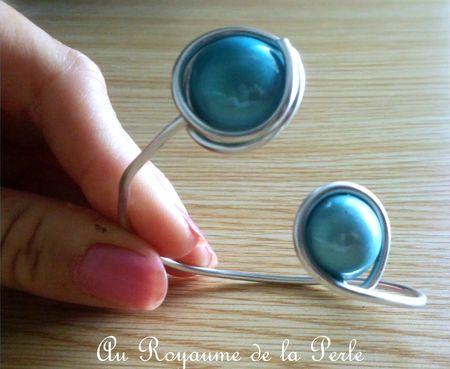 Bracelet turquoise aluminium a