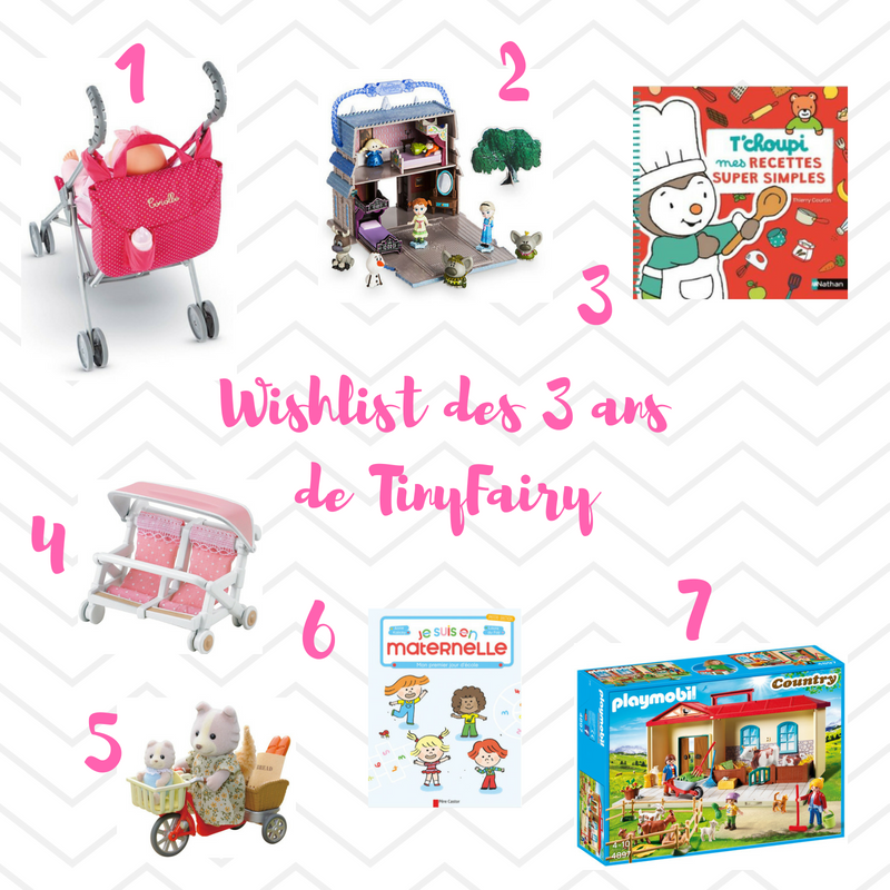 Wishlist des 3 ans ©Kid Friendly