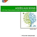 Accès aux soins: la carte de l'intolérable fracture sanitaire - ufc-que-choisir