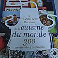 Cookbook cuisine du monde, merci !