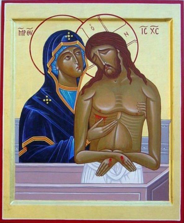 Vendredi Saint Le Christ et Sa Mère