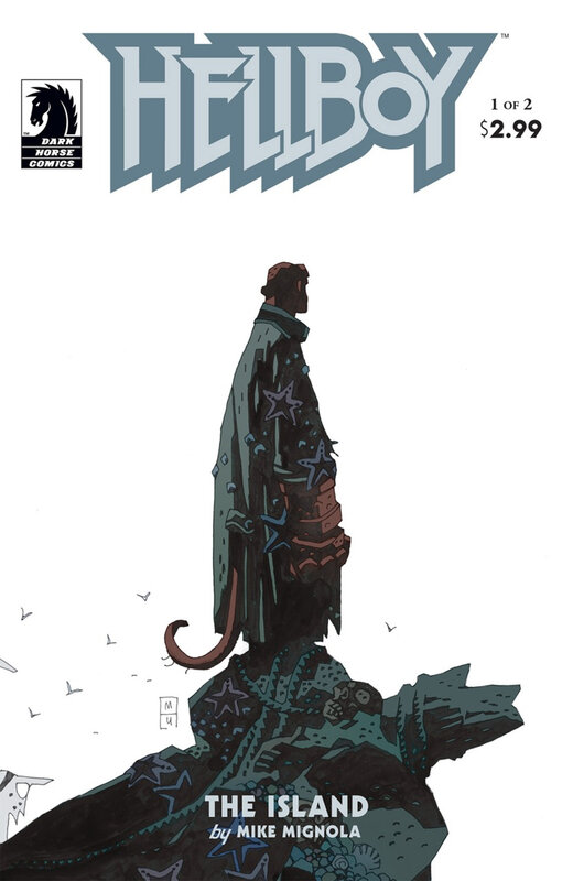 dark horse hellboy the island 01