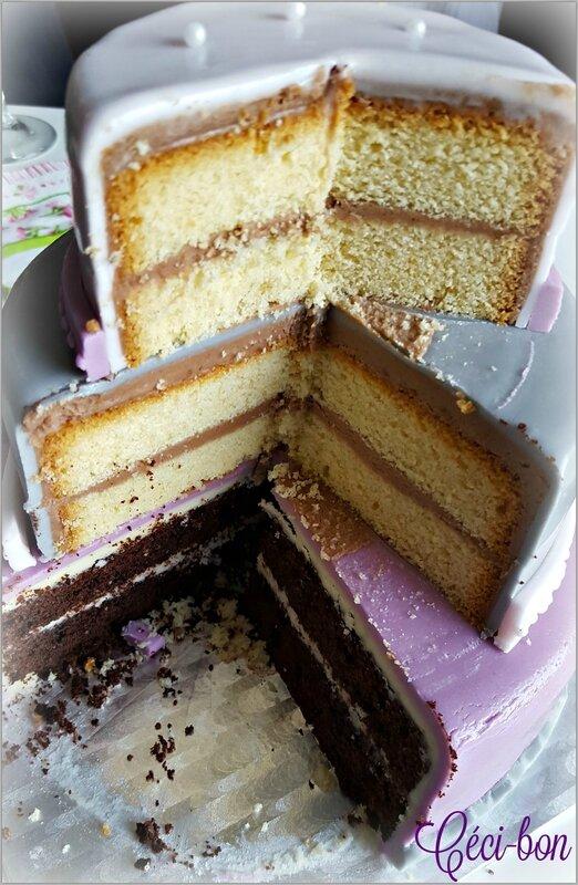 Découpe gâteau couture