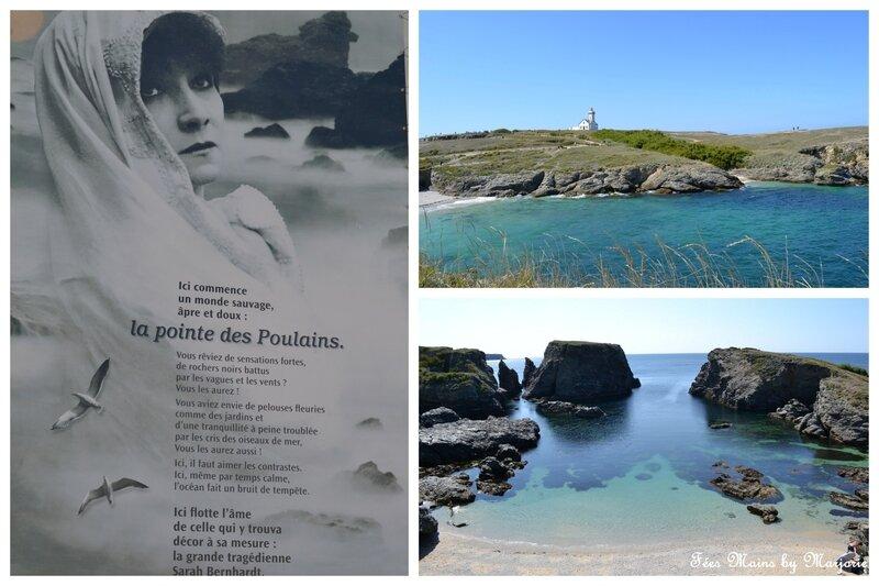 Belle Île en mer Pointe des poulains