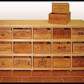 meuble caisses bois bouteilles vin 2