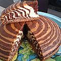 Zébra cake