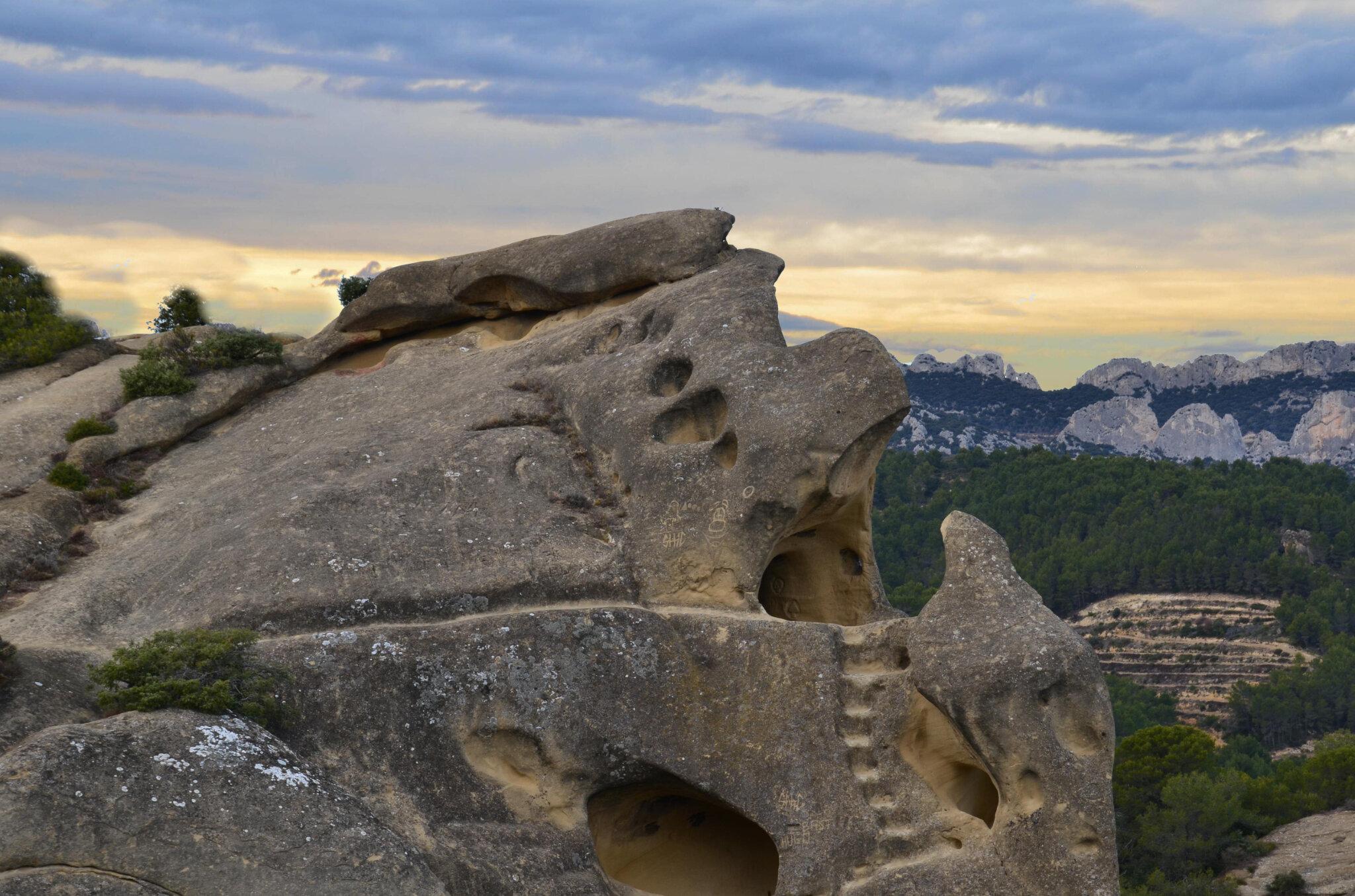 Le rocher de Rocalinaud : Pépite de Beaumes-de-Venise