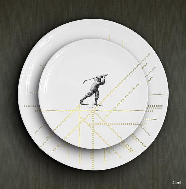 Sports Divers, A. Duo, porcelaines 1 sur 2, le tout 33,00€